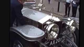 ax201 Silver Ghost Rolls Royce