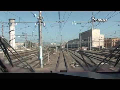 TG HS 06 FS Cab Ride Rome to Naples over the High-Speed Line