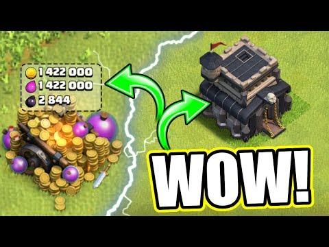THIS IS MY NEW BASE!! - Clash Of Clans - EXTREMELY RUSHED BUT CAN WE MAX IT!?