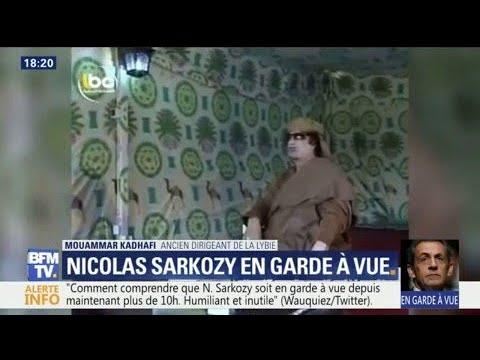 """Quand Mouammar Kadhafi assurait avoir """"aidé Sarkozy à prendre le pouvoir"""""""