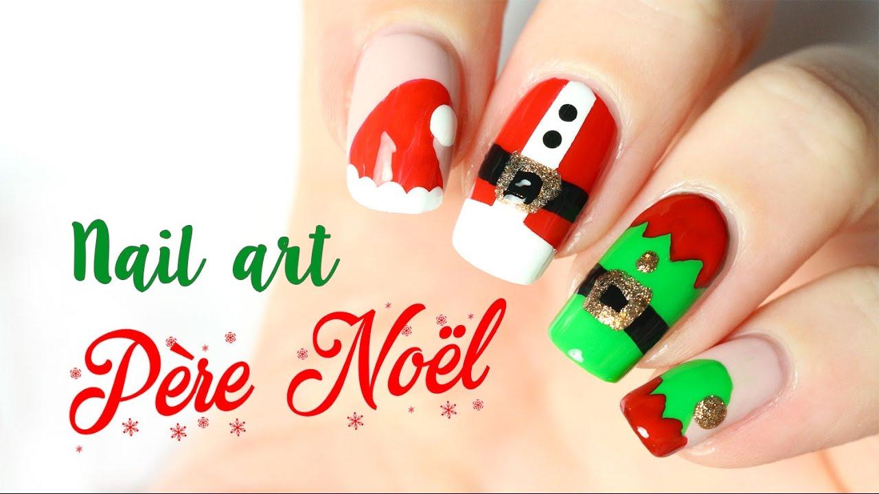 nail art noel