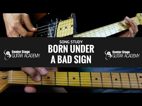 Born Under A Bad Sign Guitar Lesson | Albert King | Easy Blues