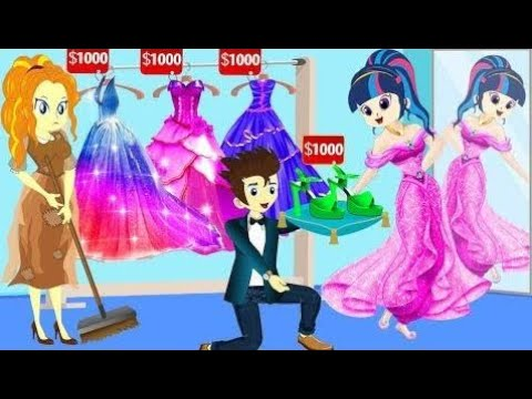 Equestria Girls - Story Twilight Sparkle Change Princess and Best Friends - At School Fun