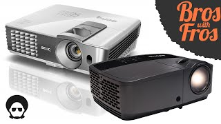 Projector Review - InFocus vs BenQ - Tech Thursday