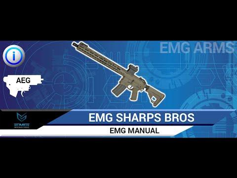 Evike EMG/Sharps Bros Jack Licensed Skull Full Metal M4 Airsoft ...