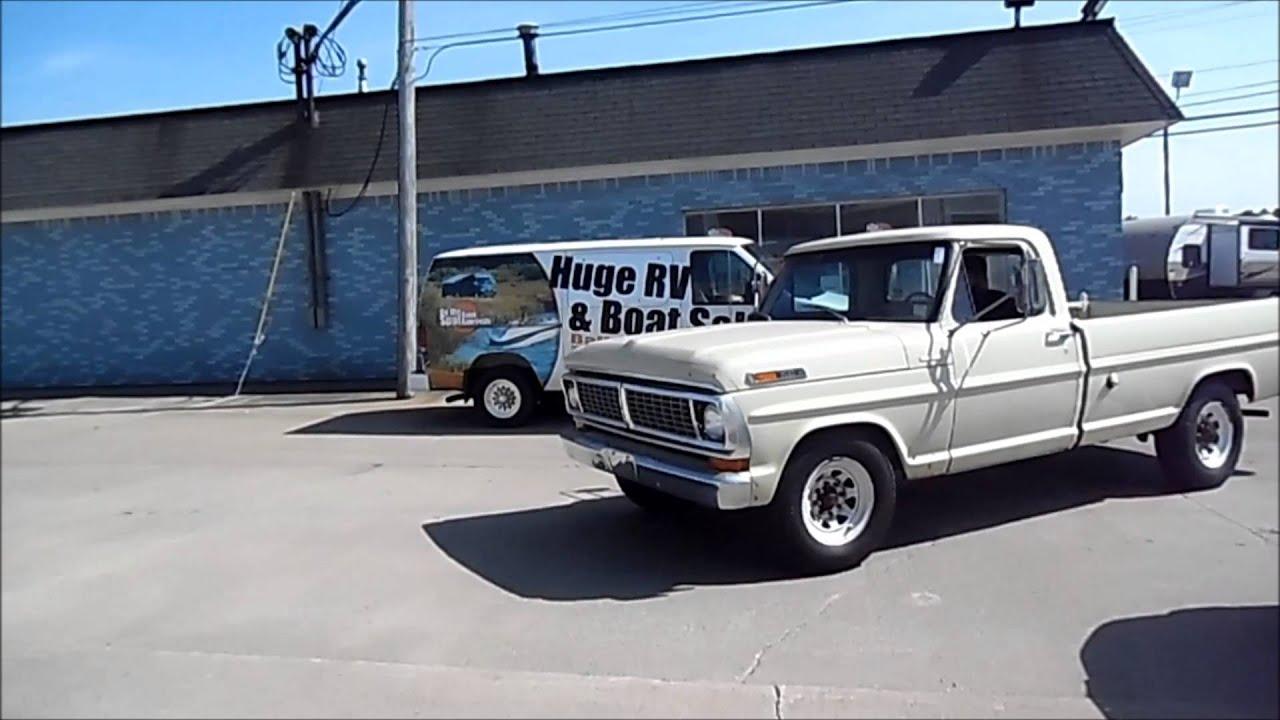 1970 ford f 250 camper special youtube for Cid special bureau 13 feb 2015