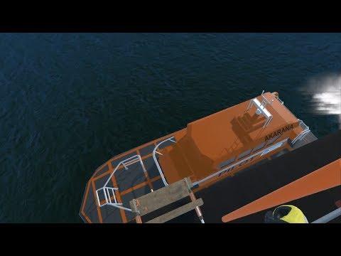 Virtual Reality Marine Pilot Transfer Training Demo