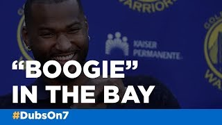 Bay Area welcomes new Warrior DeMarcus Cousins