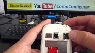 como insertar memoria micro sd samsung galaxy young gt s6310 español Video Full HD