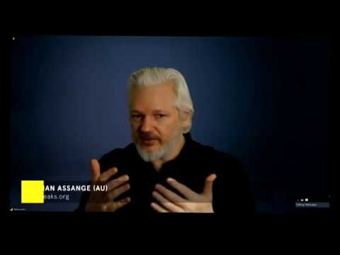 Speech by Mr. Julian Assange at the #ElevateFestival