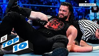 Top 10 Mejores Momentos de SmackDown En Español: WWE Top 10, Dec. 6, 2019 thumbnail