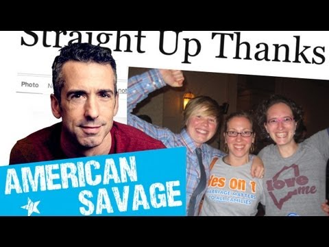 Straight Up Thanks: Straight Allies For Gay Rights | Dan Savage: American Savage | TakePart TV