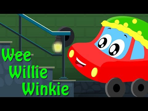 Wee Willie Winkie | Little Red Car | Songs For Kids