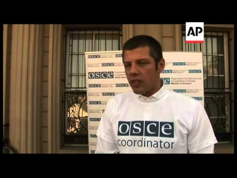 OSCE says ballots will be sent back to Serbia for counting as part of a deal