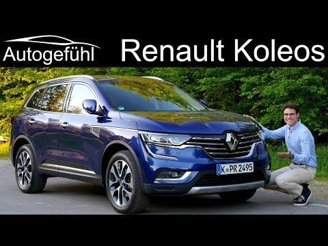 Renault Koleos FULL REVIEW SUV 2019 (Nissan X-Trail Samsung QM6) - Autogefühl