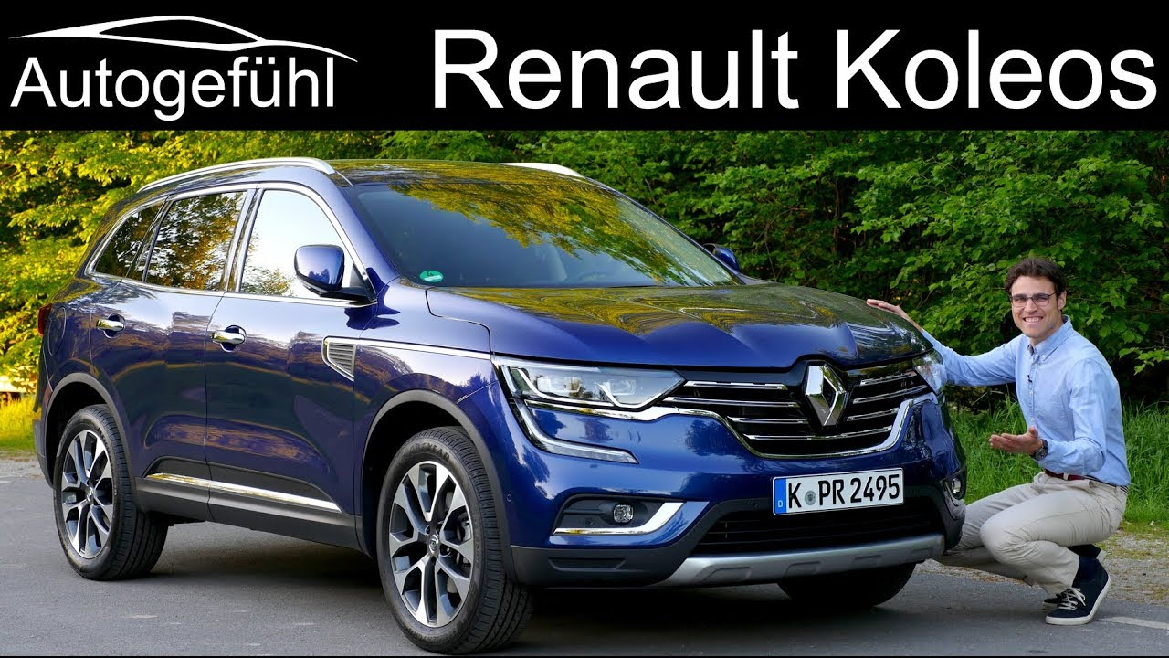 Renault Koleos FULL REVIEW SUV 2019 (Nissan X-Trail ...