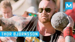 Hafþór Júlíus Björnsson Strength Training for Strongman Competition   Muscle Madness