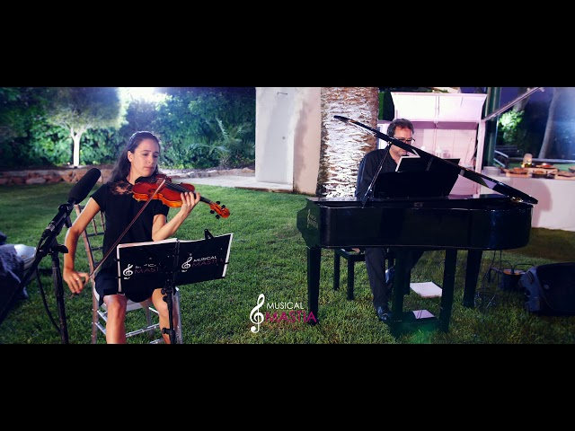 🎻 🎹 Bella y Bestia | Grupos Musicales para Bodas | Musical Mastia