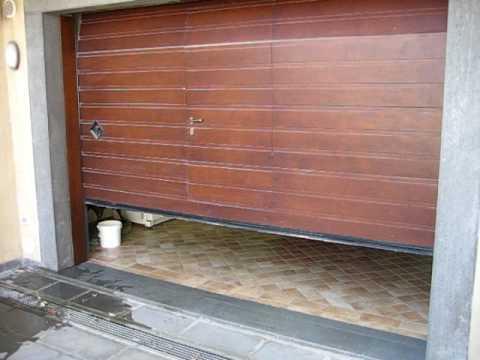 Porta per garage elettrica - YouTube