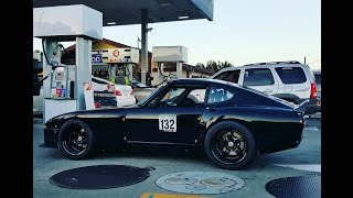 Ripping around in a 1000hp Datsun 240z