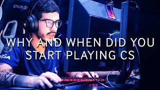 CS:GO Pros Answer: Why and When Did You Start Playing Counter-Strike?