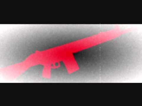 Wesley Moon - Machine gun silhouette