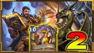 Hearthstone: Hand Buff Dragons Paladin With Nozari | This Deck Is So Fun | Descent of Dragons| Wild