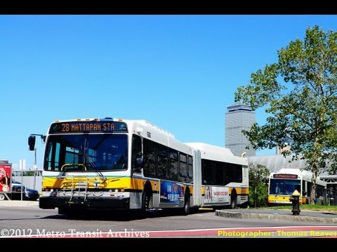 Massachusetts Bay Transportation Authority 2010 New Flyer DE60LFR #1222