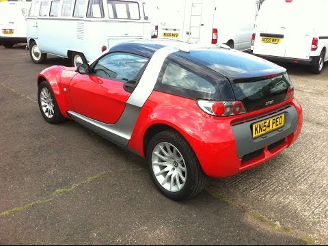 2004 smart roadster coupe review youtube. Black Bedroom Furniture Sets. Home Design Ideas