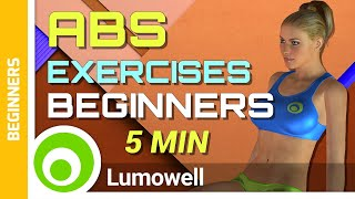 Abs Exercises for Beginners at Home