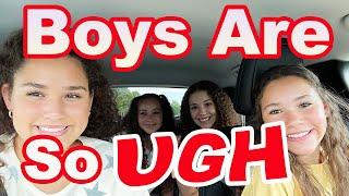 Haschak Sisters - Boys Are So Ugh (Carpool Karaoke)