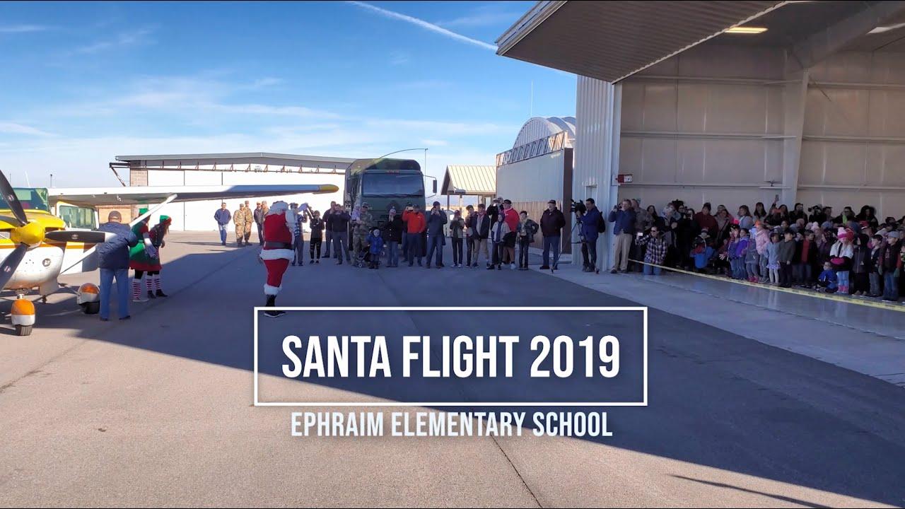 Santa Flight 2019 to Ephraim Utah by Angel Flight West