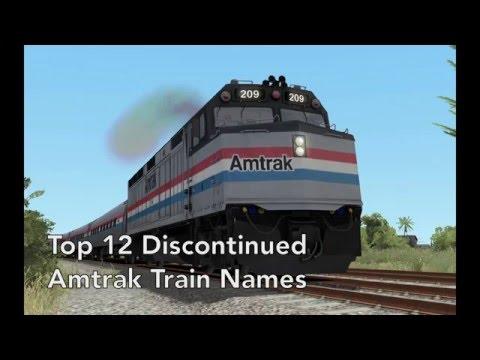 Top 12 Discontinued Amtrak Train Names Part 3