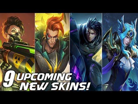 9 Upcoming New Skins First Look + Animations! Mobile Legends Bang Bang thumbnail