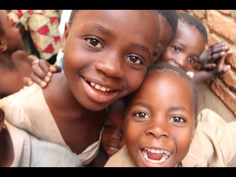 AFRICA DR Congo Rescue Centre  Child Sponsor Video - Paul Furlong