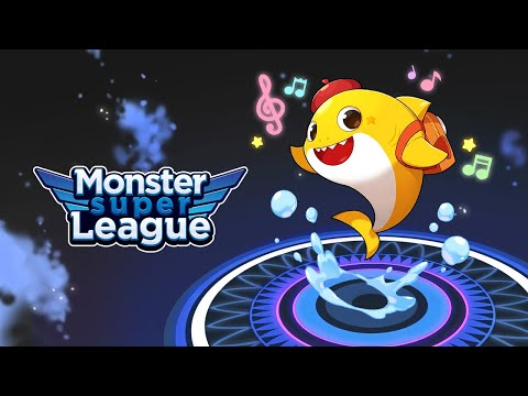 Baby Shark Is Here | Monster Super League | Baby Shark Collaboration | Baby Shark Official