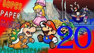 Pisti Secuestrada?!?!【Super Paper Mario】Ep.20