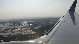 Sun Express 737-800 landing at Antalya Airport