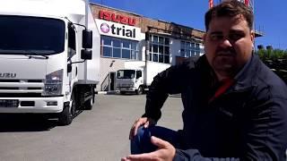 Обзор ISUZU NQR, интерьер, экстерьер, фургон, от Компании Триал #trialtrucks.ru