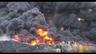 الحكومة العراقية عاجزة عن إطفاء حرائق آبار النفط بالقيارة