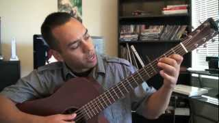 Chingy One Call Away - Guitar Lesson Tutorial Step By Step Instruction (Esteban Dias)