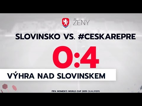 Ženy: Slovinsko - Česká republika 0:4 (0:2)