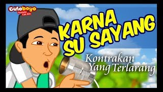 KARNA SU SAYANG VERSI  BOSO JOWO- NEAR feat. DIAN SOROWEA (COVER BY CAK IKIN CULOBOYO)