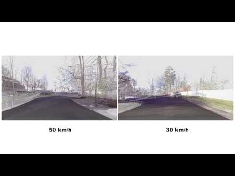 Speed Variations - 3D Laser Scan