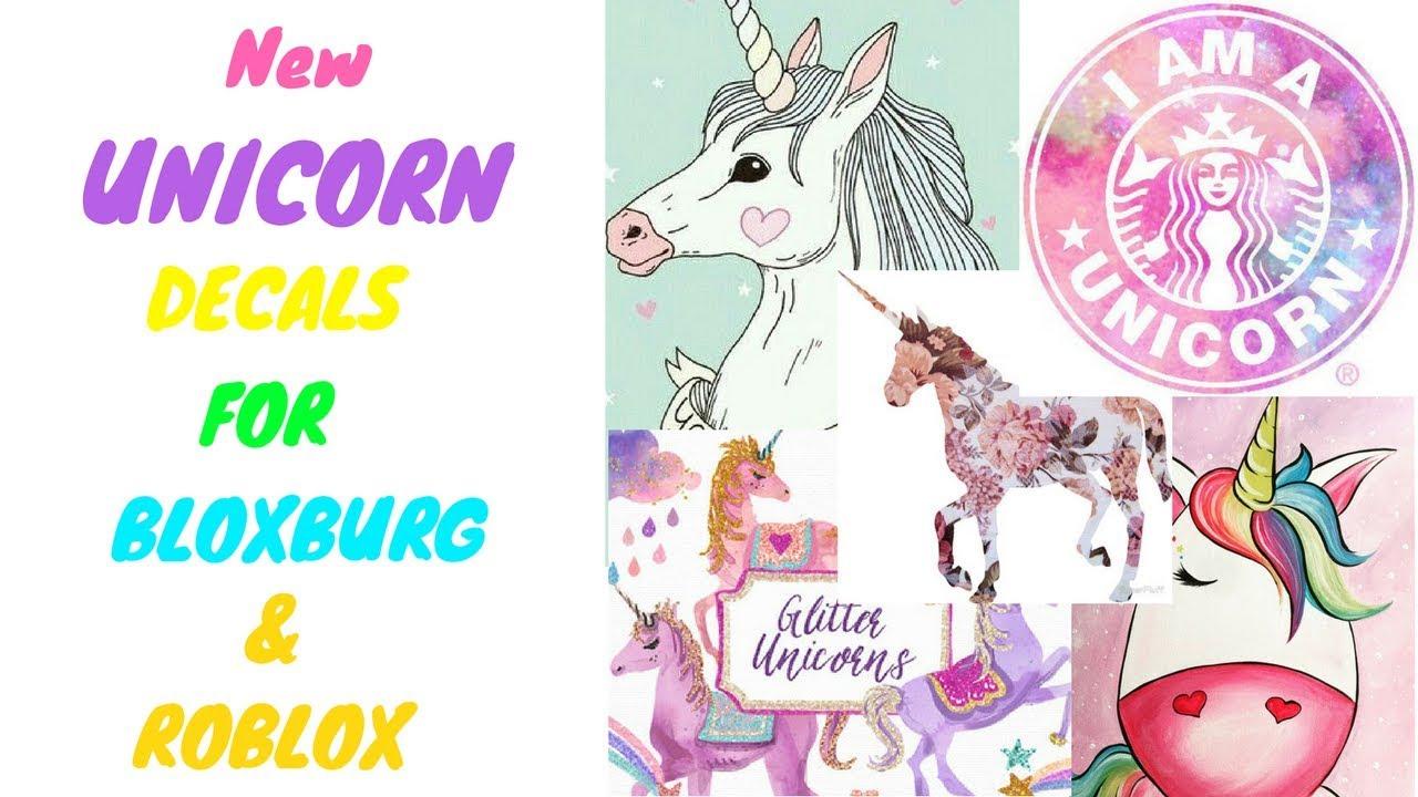 Bloxburg And Roblox Picture Codes Unicorn Youtube