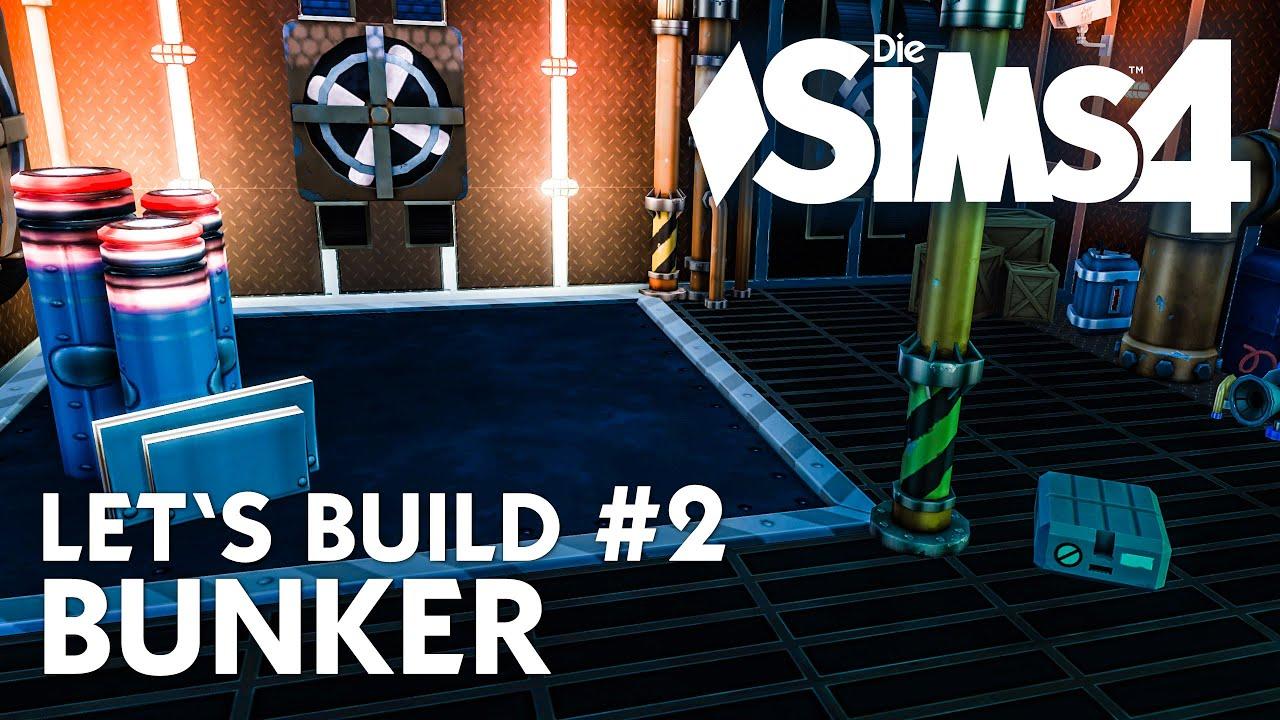 die sims 4 let 39 s build bunker 2 haus bauen unter der erde deutsch youtube. Black Bedroom Furniture Sets. Home Design Ideas