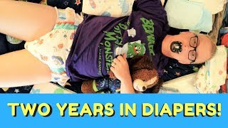 Two Years In Diapers: A Diaper Kiddo Celebration!