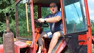 Ruski VAZDUSNI traktor VLADIMIRAC T25 TEST