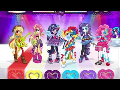 Игры Дружба это Чудо (My Little Pony Repeat the beat)