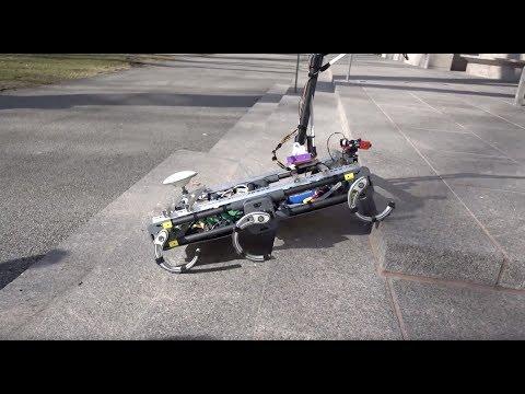 Harvard Mars Rover - URC SAR 2018